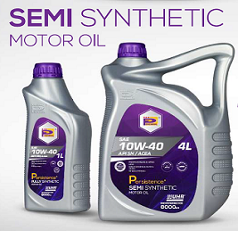 Perennial Engine Oil SEMI Fully Synthetic 10W40 4L